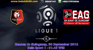 live bola streaming stade rennais vs guingamp 1 oktober 2016